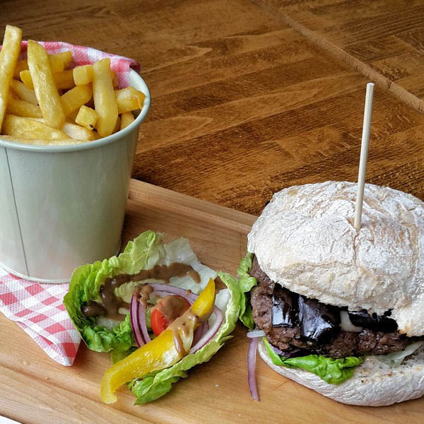 Oscar's burger